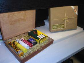 Наборы сигар в фирменной упаковке